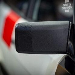 shiny garage jet black trim-restorer acondicionador plasticos coche
