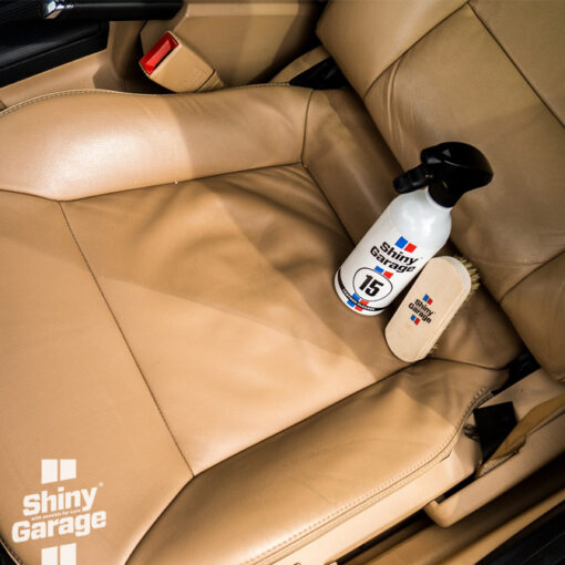 shiny garage leather cleaner
