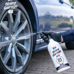 shiny garage monster wheel cleaner