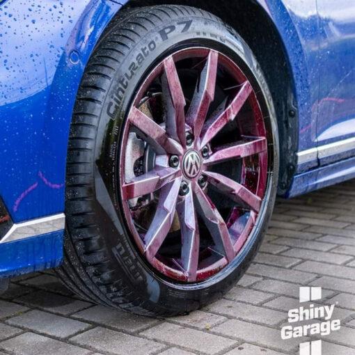 shiny garage monster wheel cleaner descontaminante
