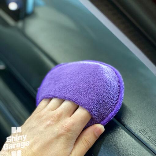 shiny garage purple pocket