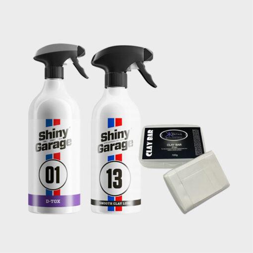 kit descontaminacion completo pintura llantas